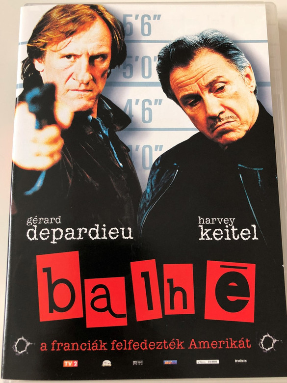 Crime Spree (Wanted) DVD 2003 Balhé / Directed by Brad Mirman / Starring: Gérard Depardieu, Harvey Keitel, Johnny Hallyday, Renaud (5998133147738)