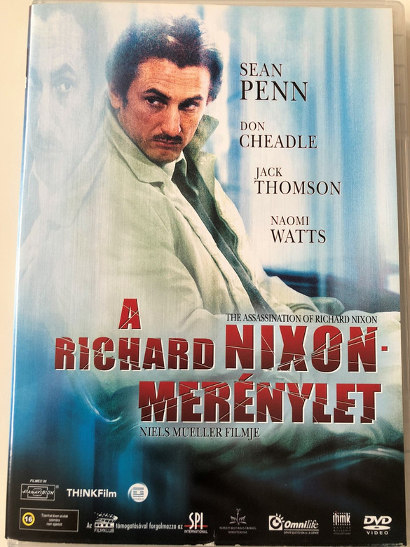 The Assassination of Richard Nixon DVD 2004 A Richard Nixon-Merénylet / Directed by Niels Mueller / Starring: Sean Penn, Don Cheadle, Jack Thompson, Naomi Watts, Brad William Henke, Michael Wincott, Mykelti Williamson (5999544151468)