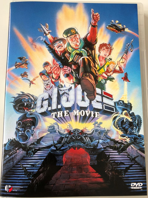 G.I. Joe The Movie DVD 1987 / Directed by Don Jurwich / Starring: Don Johnson, Burgess Meredith, Sgt. Slaughter / AKA Action Force: The Movie (5999881067217)