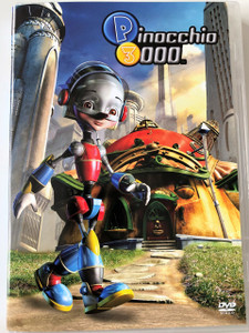 P3K: Pinocchio 3000 DVD 2004 / Directed by Daniel Robichaud / Starring: Malcolm McDowell, Whoopi Goldberg, Howie Mandel, Helena Evangeliou, Gabrielle Elfassy, Howard Ryshpan, Sonja Ball / Computer-animated Sci-Fi (8595165325171)