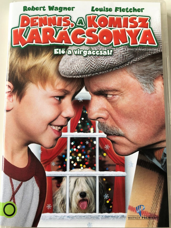 A Dennis the Menace Christmas DVD 2007 Dennis, a komisz Karácsonya / Directed by Ron Oliver / Starring: Robert Wagner, Louise Fletcher, Maxwell Perry Cotton, Kim Schraner, Jack Noseworthy (5996514005332)