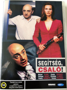 Gross Fatigue (Dead Tired) DVD 1993 Segítség, Csaló! / Directed by Michel Blanc / Starring: Michel Blanc, Carole Bouquet (5998133176332)