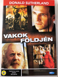 Land of the Blind DVD 2006 Vakok földjén / Directed by Robert Edwards / Starring: Donald Sutherland, Ralph Fiennes, Tom Hollander, Marc Warren, Lara Flynn Boyle (5998133183538)