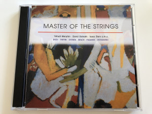 Master of the Strings / Yehudi Menuhin, David Oistrakh, Isaac Stern a.m.o. / Bach, Tartini, Drovák, Bruch, Paganini, Wieniawski / AUDIO 3 CD 2003 (4011222214836)