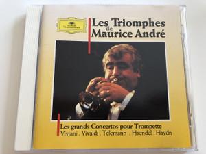 Les de Triomphes - Maurice André / Les grands Concertos pour Trompette / Viviani, Vivaldi, Telemann, Haendel, Haydn / AUDIO CD 1988 (028942728226