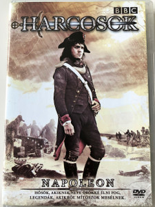Heroes and Villains - Napoleon DVD Harcosok BBC / Directed and Written by Nick Murphy / Starring: Rob Brydon, Richard McCabe, Tom Burke, Laura Greenwood / BBC Historical TV drama series (5996473004841)
