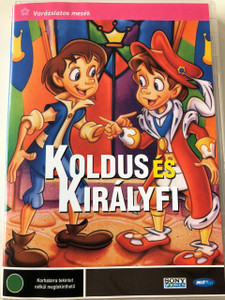 The Prince and the Pauper DVD 1994 Koldus és Királyfi / Directed by Hazel Morgan / Music by Richard Hurwitz, John Arrias (5998133190734)