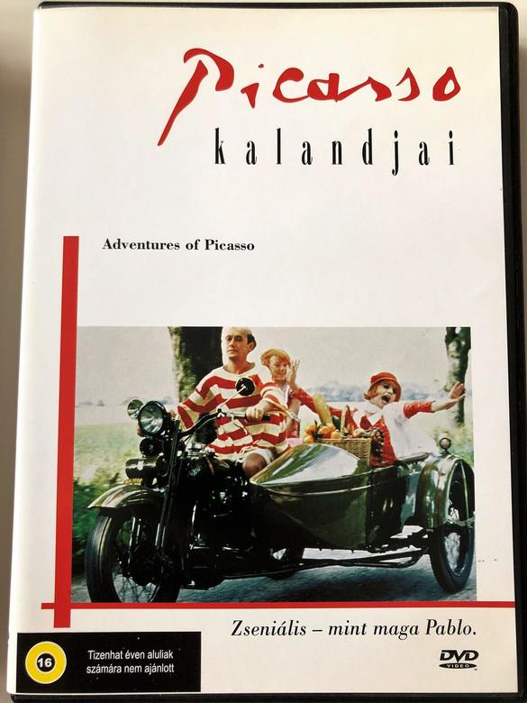 Adventures of Picasso (Picassos äventyr) DVD 1978 Picasso Kalandjai / Directed by Tage Danielsson / Starring: Gösta Ekman, Hans Alfredson, Margaretha Krook (5999552130196)
