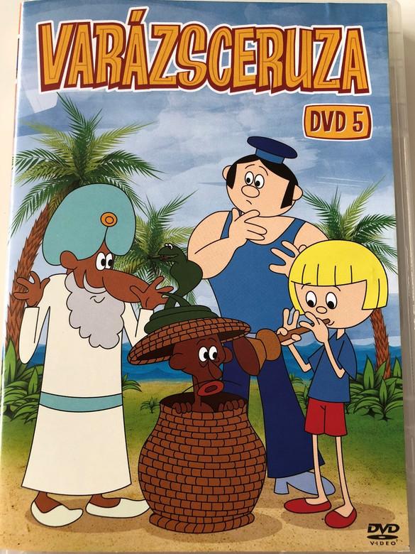 Zaczarowany ołówek 5. DVD 1970 Varázsceruza 5. / Written by Adam Ochocki / Enchanted Pencil - Classic Polish Cartoon Series / 7 episodes on disc (5996473007385)