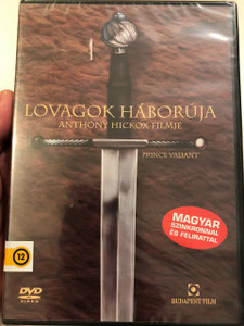 Prince Valiant DVD 1997 Lovagok Háborúja / Directed by Anthony Hickox / Starring: Stephen Moyer, Katherine Heigl, Thomas Kretschmann, Joanna Lumley, Ron Perlman, Edward Fox (5999551920460)