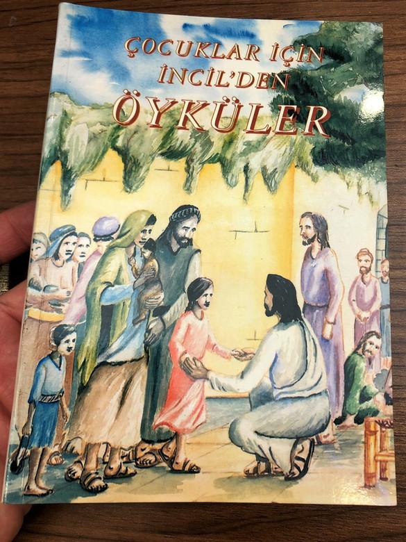 ÇOCUKLAR IÇIN INDIL'DEN ÖYKÜLER / Yazan: Soner Tufan / Stories from Bible in Turkish for Children / Author: Soner Tufan (9754620393)