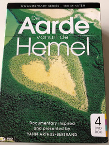 De aarde vanuit de Hemel DVD 2008 Earth from Above / Inspired and presented by Yann Arthus-Bertrand / Documentary Series of 4 DVDs (8717344735759)