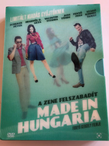 Made in Hungaria DVD 2009 Collector's Limited Edition Disc set / Directed by Gergely Fonyó / Starring: Tamás Szabó Kimmel, Tünde Kiss, Iván Fenyő / 2 DVDs + Audio CD with OST (5999544255555)