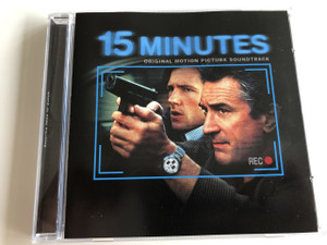 15 Minutes - Original Motion Picture Soundtrack produced by Gary Richards & John Herzfeld / AUDIO CD 2001 / America likes to watch (743218466823)