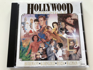 Hollywood Chronicle / AUDIO CD 1992 / Great Movie Classics Volume 1 / Varese Sarabande Digital / Produced by Robert Townson / Composer: Bernard Herrmann, Erich Wolfgang Korngold, Miklós Rózsa, Franz Waxman (4005939535124)