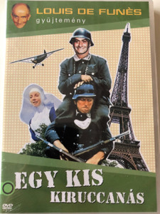La Grande Vadrouille DVD 1966 Egy kis kiruccanás / Directed by Gérard Oury / Starring: Bourvil, Louis de Funès, Claudio Brook, Terry-Thomas / Louis de Funés Collection (5996473012594)