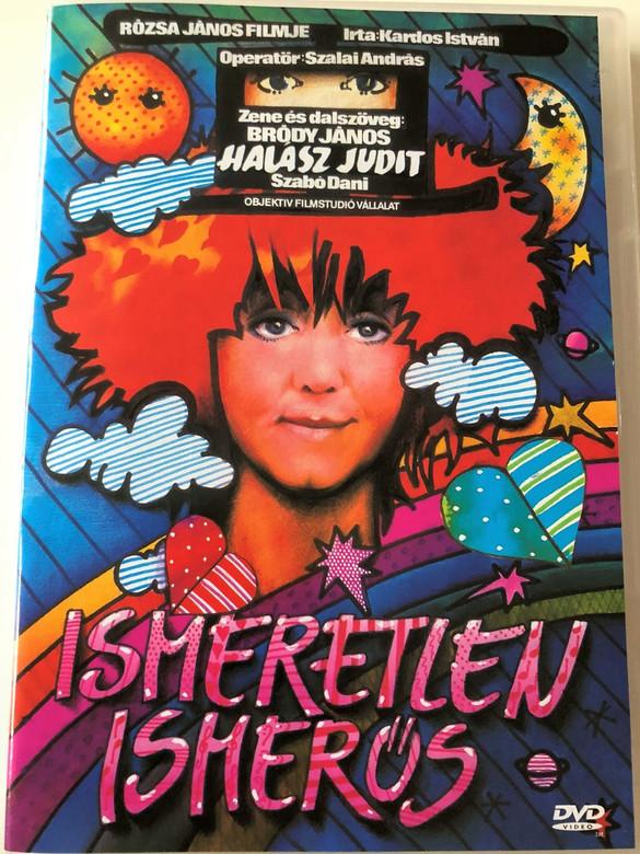 Ismeretlen Ismerős DVD 1989 / Directed by Rózsa János / Starring: Halász Judit, Eperjes Károly, Garas Dezső, Szabó Dani / Hungarian musical for children (5999881068931)