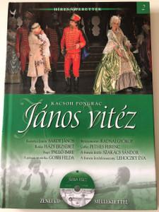 Kacsoh Pongrácz : János Vitéz / Hungarian Operretta by with Musical CD included / Kossuth kiadó / Híres Operettek Sorozat 2. / Budapesti Operettszínház / MTVA (9789630974608)