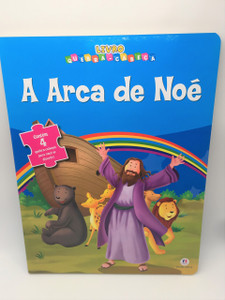 Arca de Noe, A - Colecao Livro Quebra Cabeca / Portuguese Brazilian Puzzle Activity Book for Children Bible Story Noah's Ark (9788538043959)