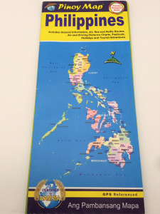 Philippines Travel Map Map / Pinoy Map / Ang Pambansang Mapa