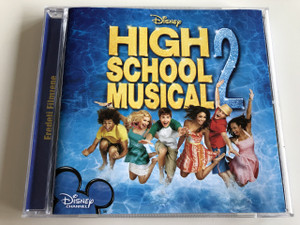 High School Musical 2 / AUDIO CD 2007 / ASHLEY TISDALE, CORBIN BLEU, LUCAS GRABEEL, VANESSA HUDGENS, ZAC EFRON / AN ORIGINAL WALT DISNEY RECORDS SOUNDTRACK - EREDETI FILMZENE / With Bonus Track / Szerelmes Hangjegyek 2. +2 bonus magyar szám (5099950566822)