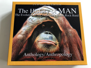 The History of Man: The Evolution of the Legendary Welsh Rock Band (Anthology/Anthropology) by Man