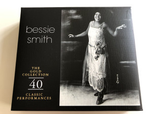 Bessie Smith - The Gold Collection - 40 Classic Performances / RETRO / In association with the International Jazz & Blues Atrists Foundation (076119700926)