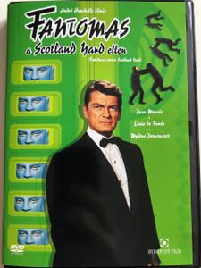 Fantômas contre Scotland Yard DVD 1967 Fantomas a Scotland Yard ellen / Directed by André Hunebelle / Starring: Jean Marais, Louis de Funès, Mylène Demongeot (5999544249417)