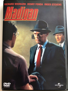 Madigan DVD 1968 / Directed by Don Siegel / Starring: Richard Widmark, Henry Fonda, Inger Stevens, James Whitmore (5996051042012)