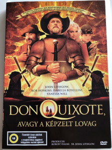 Don Quixote DVD 2000 Don Quixote avagy a képzelt lovag / Directed by Peter Yates / Starring: John Lithgow, Bob Hoskins, Isabella Rossellini, Lambert Wilson (5999548220085)