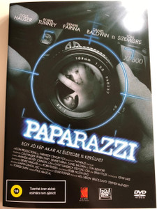 Paparazzi DVD 2004 / Directed by Paul Abascal / Starring: Cole Hauser, Robin Tunney, Dennis Farina, Daniel Baldwin, Tom Sizemore (5999545584289)