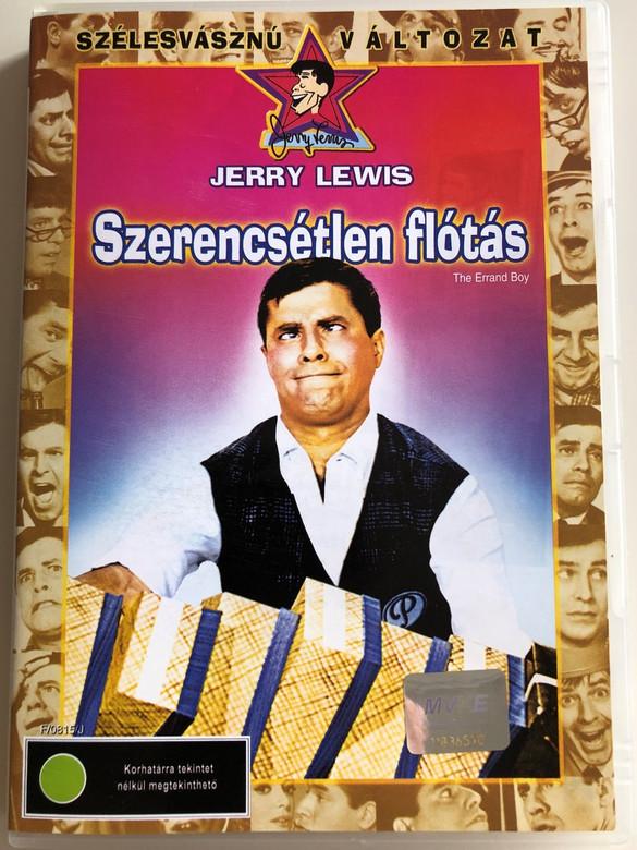 The Errand Boy DVD 1961 Szerencsétlen flótás / Directed by Jerry Lewis / Starring: Jerry Lewis, Brian Donlevy, Howard McNear, Dick Wesson (5996255716443)