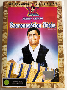 The Errand Boy DVD 1961 Szerencsétlen flótás / Directed by Jerry Lewis / Starring: Jerry Lewis, Brian Donlevy, Howard McNear, Dick Wesson (5996255716443)