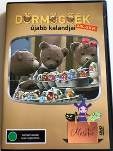 Dörmögőék újabb kalandjai DVD 2018 / Directed by Kovács Kati / Written by Gyárfás Endre / 13 episodes (14-26) / MTV Mesetár / Hungarian Cartoon series (5999542819971)
