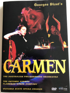 Georges Bizet - Carmen DVD / The Australian Philharmonic Orchestra / The Antonio Vargas Flamenco Dance Co. / Victoria State Opera Chorus (5999548220078)