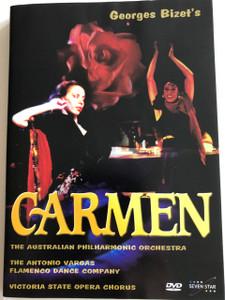 Georges Bizet - Carmen DVD / The Australian Philharmonic Orchestra / The Antonio Vargas Flamenco Dance Co. / Victoria State Opera Chorus (5999548220078)