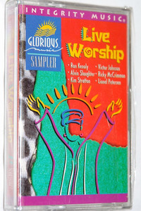 Glorious Music Sampler Live Praise and Worship Integrity Music Audio Cassette 1995 / Featuring: Ron Kenoly, Alvin Slaughter, Kim Stratton, Victor Johnson, Ricky McCrimmon, Lionel Petersen