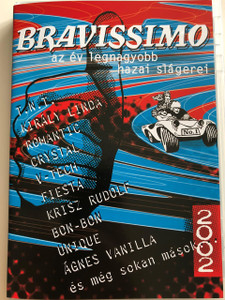 Bravissimo DVD 2002 Az év legnagyobb hazai slágerei / Magneoton / Hungarian hit songs 2002 Music Video DVD (5050466200327)