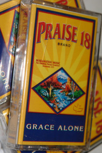 Praise 18 - Grace Alone / Christian Praise and Worship Audio Cassette / Maranatha! Music 1998 (080688586546)