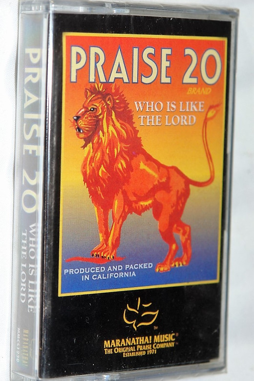 Praise 20 - Who is Like the Lord / Christian Praise and Worship Audio Cassette / Maranatha! Music 1999 (738597123047)