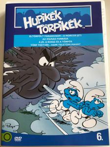 The Smurfs 1990 DVD 6. Hupikék Törpikék / Directed by José Dutillieu, George Gordon / Eltörpölt Paradicsom, Az Ifjúság Forrása, A jó, a rossz és a törpös, Törp Testvér / Hanna-Barbera / 6 episodes on disc (5996255737271)