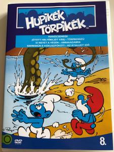 The Smurfs 1990 DVD 8. Hupikék Törpikék / Directed by José Dutillieu, George Gordon / Manócsemege, Jótett helyébe, Törpbosszú, Ki nevet a végén, Abrakadabra, Szeressük-e Hókuszpókot, Az átaludt idő/ Hanna-Barbera / 7 episodes on disc (5996255737295)