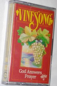Vinesong - God Answers Prayer - Songs of Fellowship / Early Live Christian Praise and Worship Audio Cassette 1987