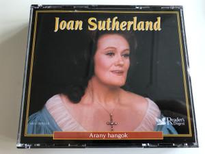Joan Sutherland - Arany hangok / AUDIO 3 CD 2005 / Australian dramatic coloratura soprano / Reader's Digest (JoanSutherlandAranyHangok)