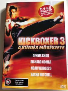 Kickboxer 3: The Art of War DVD 1992 Kickboxer 3: A küzdés művészete / Directed by Rick King / Starring: Sasha Mitchell, Dennis Chan, Richard Comar, Noah Verduzco, Alethea Miranda, Ian Jacklin (5999553601503)