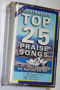 Australias Top 25 Praise Songs / Maranatha! Singers MMCS1277 / 2 Audio Cassettes / Live Praise and Worship
