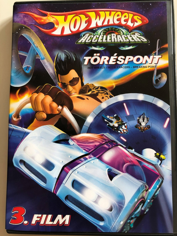 Hot Wheels - AcceleRacers - Breaking Point DVD 2005 Hot Wheels Töréspont / Directed by William Lau / Mattel Entertainment / 3. Movie in series / Created by Mark Edens, Ian Richter (5999048904546)