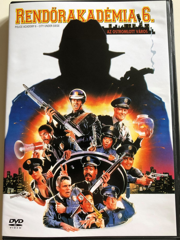 Police Academy 6 - City under Siege DVD 1989 Rendőrakadémia 6. Az Ostromlott város / Directed by Peter Bonerz / Starring: Bubba Smith, Michael Winslow, David Graf, Marion Ramsey (5999048901057)