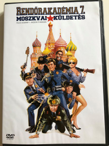 Police Academy 7 - Mission to Moscow DVD 1994 Rendőrakadémia 7. Moszkvai küldetés / Directed by Alan Mette / Starring: George Gaynes, Michael Winslow, David Graf, Leslie Easterbrook, Claire Forlani, Ron Perlman, Christopher Lee (5999048901736)