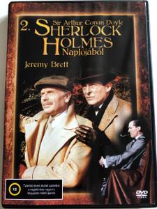 The Casebook of Sherlock Holmes DVD 1991 Sherlock Holmes Naplójából / Directed by John Madden, Michael A. Simpson, Patrick Lau, June Howson, Tim Sullivan / Starring: Jeremy Brett, Edward Hardwicke, Rosalie Williams, Cheryl Campbell (5999545586238)